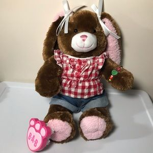 "Build-A-Bear Workshop Rabbit +Clothes 17"""